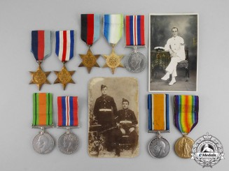 Canada. An First & Second War Porter Family Group