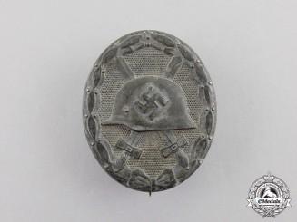 Germany. A Silver Grade Wound Badge by Moritz Hausch A.G. of Pforzheim