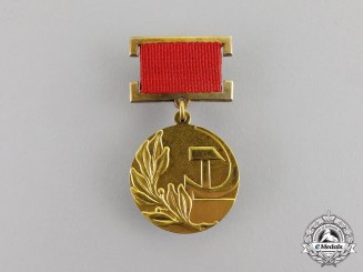Russia, Soviet Union. A USSR State Prize Badge in Gold