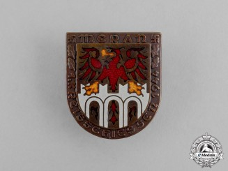 Germany. A 1944 Meran First District Marksmanship Festival Badge