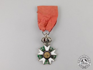 France, First Empire. A Legion D'Honneur, Officer's Cross, Type III, c.1809