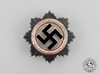 Germany. A German Cross in Silver by Fritz Zimmermann of Stuttgart; Light Version