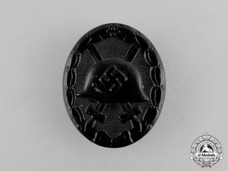 Germany A Second War Period Black Grade Wound Badge