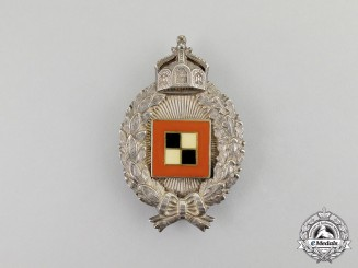 Prussia. An Imperial First War Prussian Observer's Badge by C. E. Juncker of Berlin