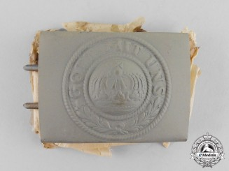 Prussia. A Mint Imperial Prussian EM/NCO's Belt Buckle, c.1915