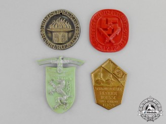 Germany. A Grouping of Four Third Reich Period Event Badges