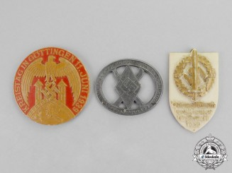 Germany. Three Third Reich Period Event Badges