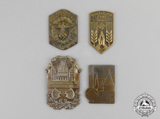 Germany. Four Third Reich Period Event Badges