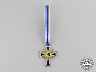 Germany. A Gold Grade Cross of Honour of the German Mother