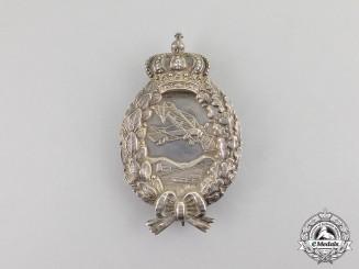 Bavaria. A First War Bavarian Pilot's Badge by Karl Poellath of Schrobenhausen