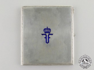 Romania, Kingdom. A Personal Gift from King Ferdinand I, c.1918