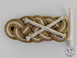 Germany, Second War. An Exceedingly Rare Grand Admiral Shoulder Board