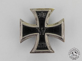Prussia. An Iron Cross 1870 First Class by Wagner & Sohn; Named to Generalmajor von Unruhe