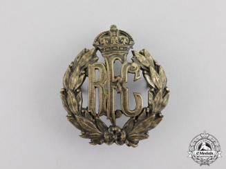 Great Britain. A Royal Flying Corps (RFC) Cap Badge, c.1917