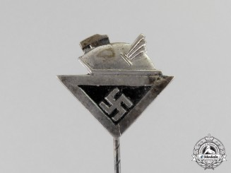 Germany. A Culture Society Membership Stick Pin