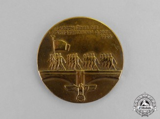 Germany. A 1935 Opening Ceremony of the New Ludwigs-Bridges Medal
