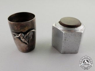 Germany. A First War German Aviators Kill Trophy Shotglass