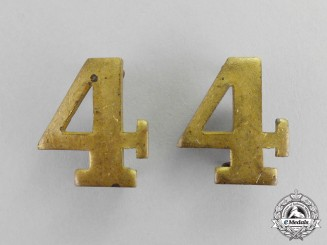 Canada. A Pair of 4th Infantry Battalion Shoulder Titles
