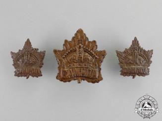 Canada. A Canada General Service Insignia Set