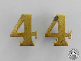 Canada. A Set of 4th Infantry Battalion Should Titles