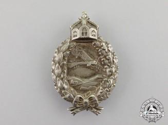 Prussia. A First War Prussian Pilot's Badge by C. E. Juncker