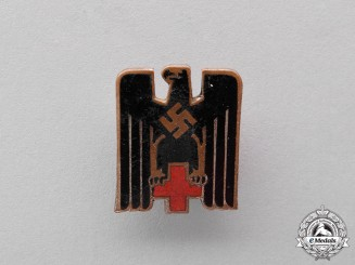 "Germany. A DRK ""Deutsches Rotes Kreuz"" Membership Badge"