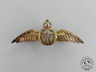 United Kingdom. A Royal Air Force (RAF) Sweetheart Badge, c.1941
