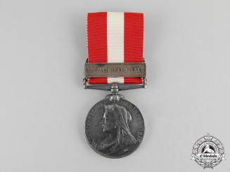 United Kingdom. A Canada General Service Medal 1866-1870, Rockburn Infantry Company