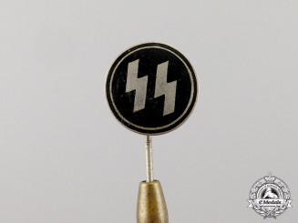 Germany. A Waffen-SS Membership Stick Pin by Hoffstätter Bonn