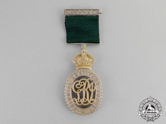 Canada. A Colonial Auxiliary Forces Officers' Decoration to Lieutenant Colonel J.B. Miller
