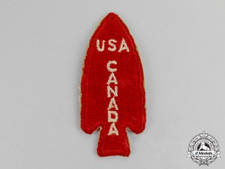 Canada, United States. A 1st Special Forces Patch c.1943