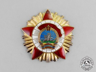 Mongolia. An Order of Red Combat Banner