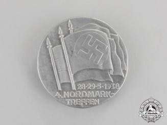 Germany. A 1938 A 4th Nordmark Rally Badge