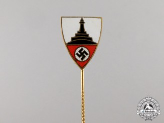 Germany. A National Association of Veterans Membership Stick Pin
