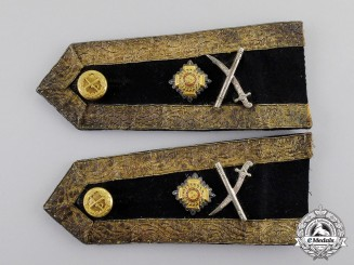 Great Britain. A Pair of Army Major-General's Shoulder Straps, c.1935