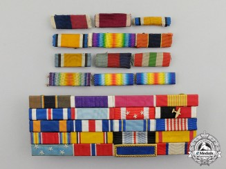 United States. A Lot of Sixty-Seven Ribbon Bars