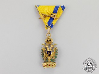 Austria, Imperial An Austrian Order of the Iron Crown, by Rozet & Fischmeister