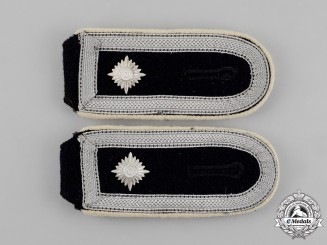 "Germany. A Mint Set of Luftwaffe ""Hermann Goering"" P. Division Feldwebel Rank Shoulder Straps"