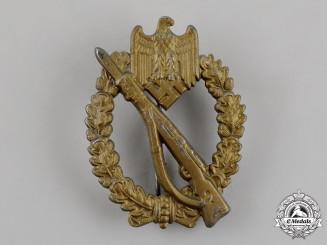 Germany. An Infantry Assault Badge, Bronze Grade, by Gebrüder Schneider of Vienna, c. 1943