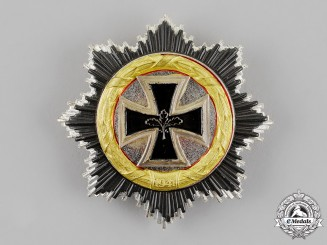 Germany, Republic. A German Cross in Gold, Alternative 1957 Version