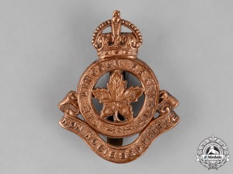 Canada. A Lincoln Regiment Cap Badge