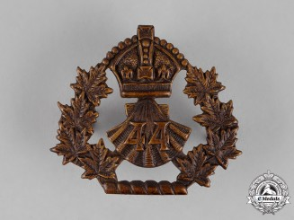 Canada. A 44th Lincoln & Welland Regiment Cap Badge, c.1910