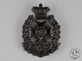 Canada. A Victorian 43rd Ottawa and Carleton Battalion of Rifles Shoulder Belt Plate, c.1882
