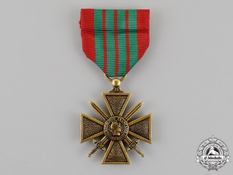 United States. A French Croix de Guerre, 1939-1945