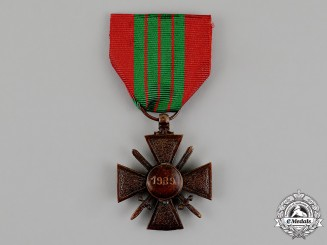 France, Occupied Italy. A Croix de Guerre, Very Scarce, c.1944