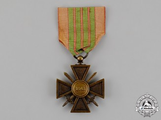 "France, Republic. A Croix De Guerre, Tunisia ""De Giraud"" Version, c.1943"