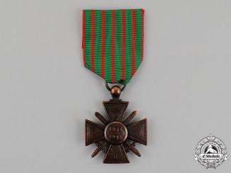 France, Republic. A Rare Replacement Issue Croix de Guerre, c.1919