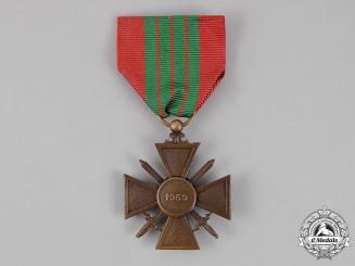 France, Republic. A Croix de Guerre 1939 with Box