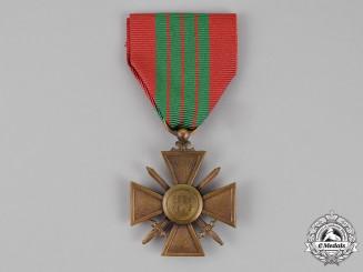 France, Republic. A Croix de Guerre, 1939-1945