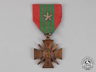 France, Republic. A Croix de Guerre, 1939-1940 with Silver Star